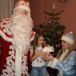 Роман Глуховский в образе Деда Мороза