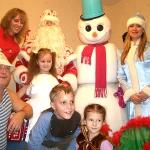 Живой снеговик на вашем празднике