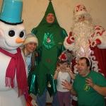 Снеговик, Новогодняя ёлка и Дед мороз