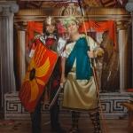 Ведущий на свадьбу в Волгограде Роман Глуховский, тематическая свадьба Древняя Греция