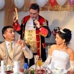 Ведущий на свадьбу в Волгограде Роман Глуховский, свадьба друзей