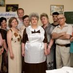 Юбилей Школьные годы. Выпускная фотография.