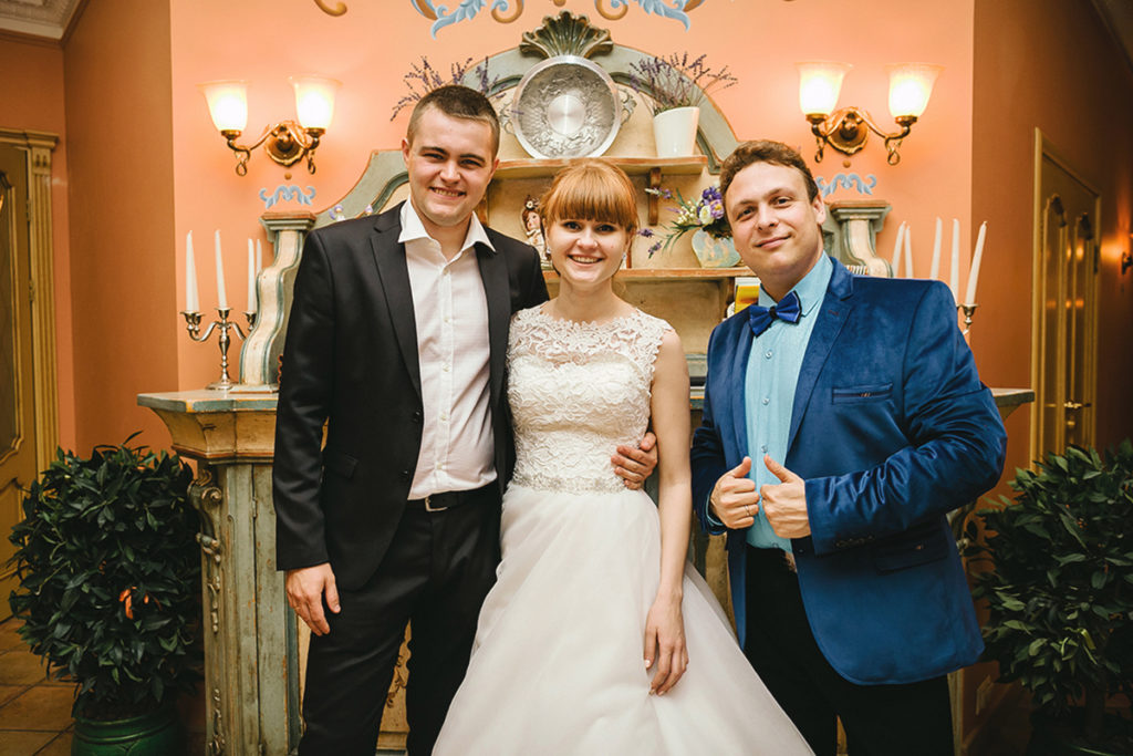 Ведущий на свадьбу Роман Глуховский